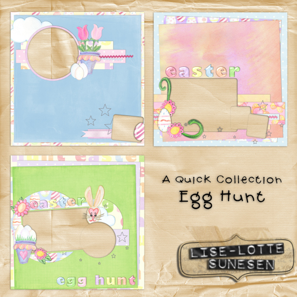 Egg Hunt - Quick Pages