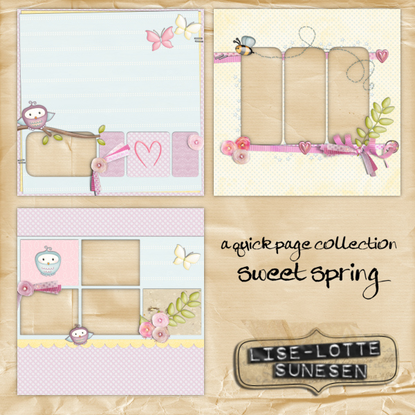 Sweet Spring - Quick Pages