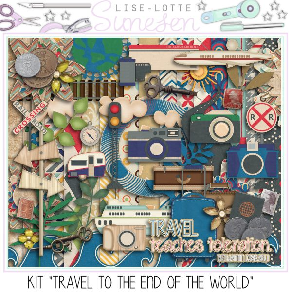"Kit ""Travel To The End Of The World"""