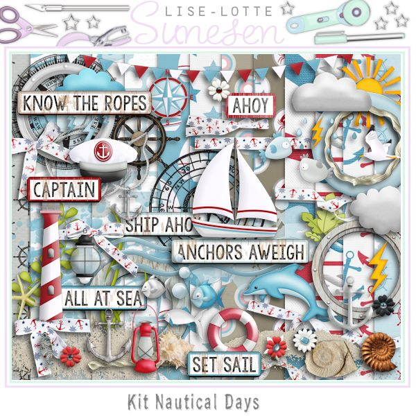 "Kit ""Nautical Days"""